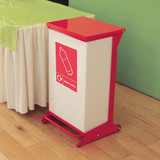 Wybone 98 Litre Metal Pedal Operated Recycling Unit