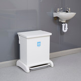 Wybone 42 Litre Hybrid, Pedal Operated Sackholder With A Removable Plastisol Body, Integrated Castors And Hands Free Frame