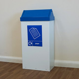 Wybone Rfg/St Swing Top Litter/Recycling Units 80 Litre