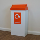 Wybone Rfg/St Swing Top Litter/Recycling Units 98 Litre