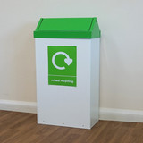 Wybone Rfg/St Swing Top Litter/Recycling Units 28 Litre