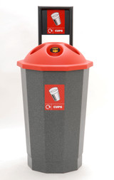 Beca Eco Cup Bank with Flask (Black Top) - 700 cups