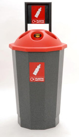 Beca Eco Bottle Bank (No Flask) (Black Top) - 75 litres