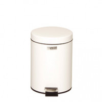 Rubbermaid Small Pedal Bin (With Plastic Liner) 5.6 L - White