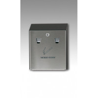 Rubbermaid Smokers' Station - Black