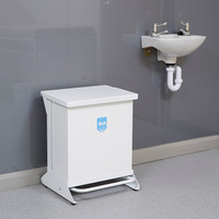 Wybone 42 Litre Pedal Operated Sackholder With Fixed Body