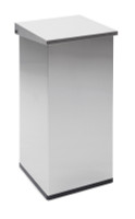 Vepa Carro Lift With Damper 110 Litre - Stainless Steel