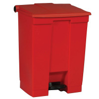 Rubbermaid Step-On Can 18G/68L Red