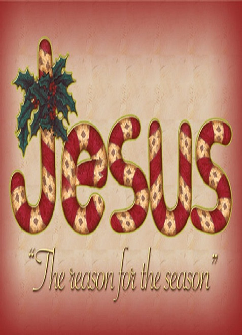 Jesus the reason for season boxed greeting cards