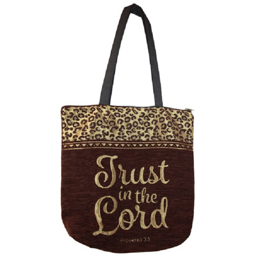 Trust in the Lord Woven Tote Bag