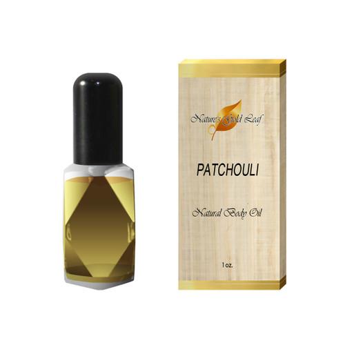 Patchouli Body Oil Unisex 1 oz.