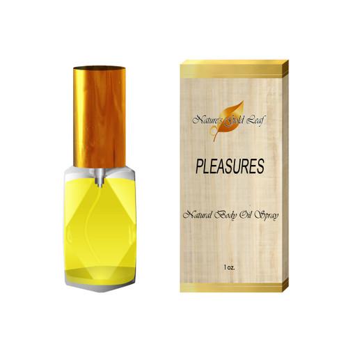 Pleasures Body Oil Spray for Men 1 oz.