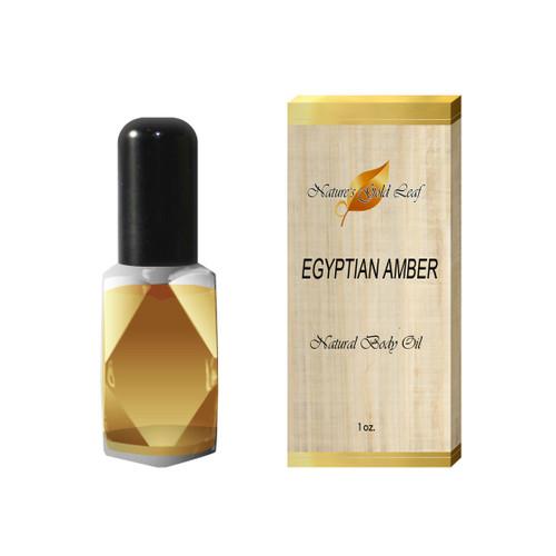 Egyptian Amber Body Oil Unisex 1 oz.