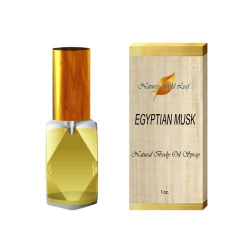 Egyptian Musk Body Oil Spray Unisex 1 oz.