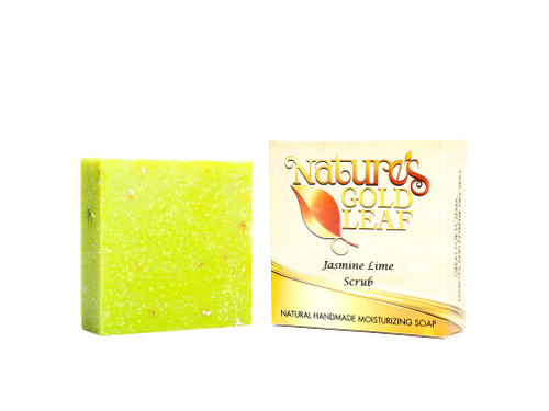 Jasmine Lime Scrub Soap