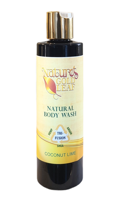 Natural Body Wash Scented With Coconut Lime