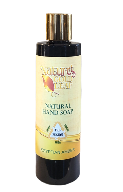 Natural Hand Soap Scented with Egyptian Amber
