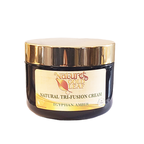 Natural Tri-Fusion Cream Scented with Egyptian Amber