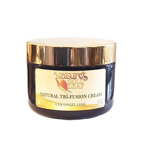 Natural Tri-Fusion Cream Scented with Coconut Lime