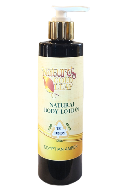 Natural Tri-Fusion Lotion Scented with Egyptian Amber