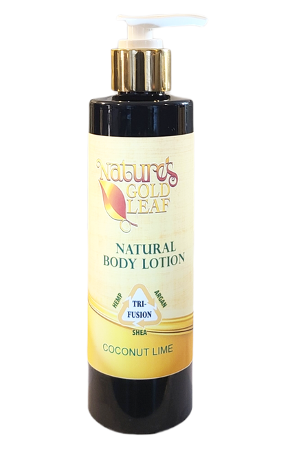 Natural Tri-Fusion Lotion Scented with Coconut Lime