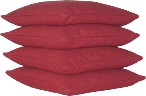 Crimson Cornhole Bags