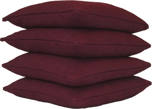 Maroon Cornhole Bags