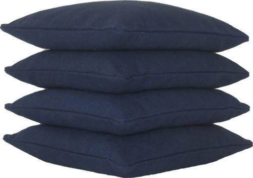 Navy Blue Cornhole Bags