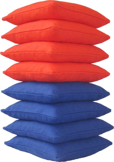 Orange and Blue Cornhole Bags