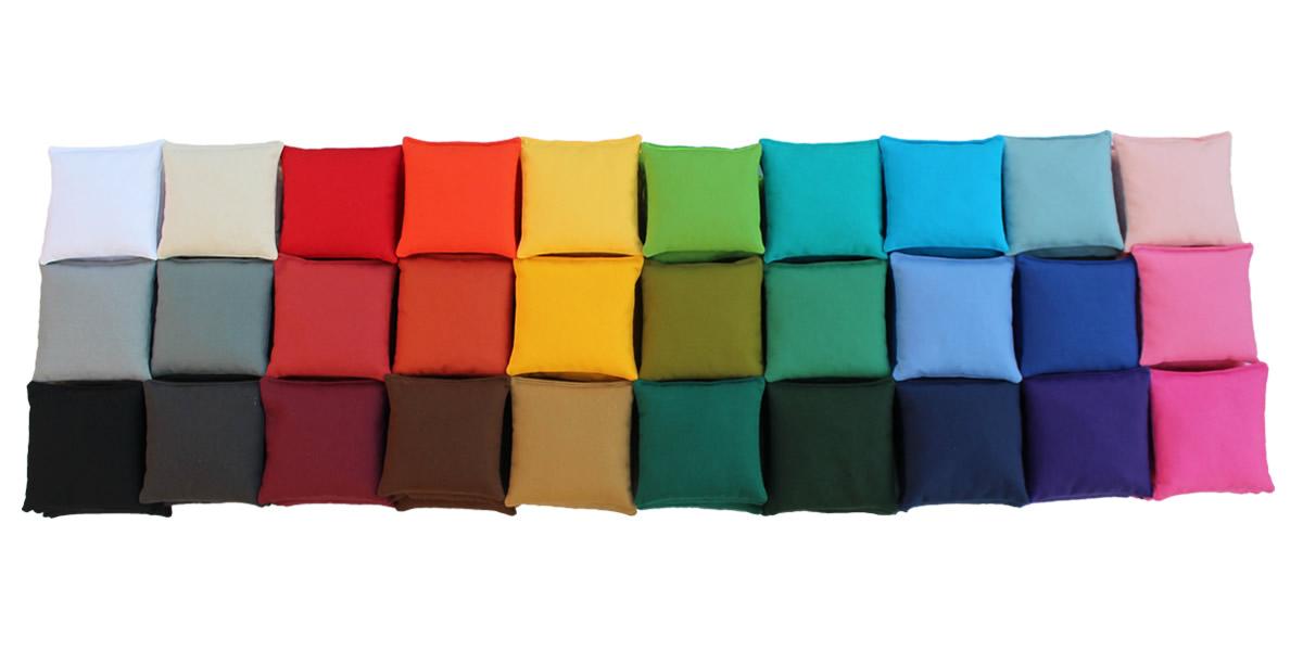 All cornhole bag colors