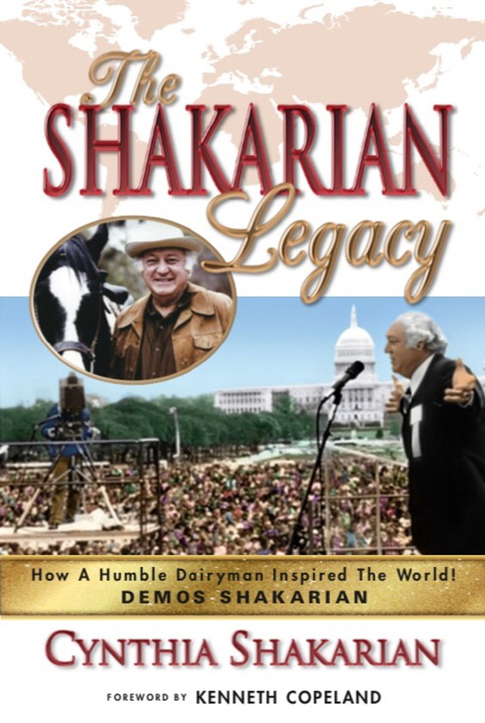 It's an unbelievable modern-day Super-Hero story!  The Shakarian Legacy is inspired by the real-life story of Demos Shakarian, founder of Full Gospel Business Men's Fellowship International (FGBMFI). This is an adventure-packed account of inspirational events, supernatural miracles, and a touch of old-fashioned romance, with private moments now being told for the first time.