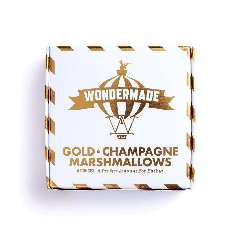 24K Gold Champagne Marshmallows