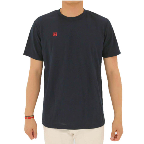 Mooto Cool Round T-Shirt Navy