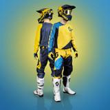 Scott 450 Angled Light Jersey (Blue/Yellow)