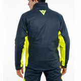 Dainese Storm 2 Unisex Rain Jacket (Black Iris/Fluo Yellow)