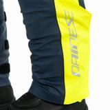 Dainese Storm 2 Unisex Rain Pants (Black Iris/Fluo Yellow)