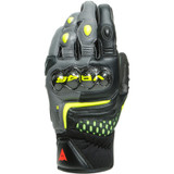 Dainese VR46 Sector Short Gloves (Black/Anthracite/Fluo Yellow)