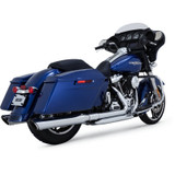 Vance & Hines Dresser Duals Head Pipes for Harley Davidson