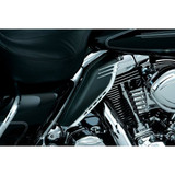 Kuryakyn AirMaster Accents for Mid-Frame Air Deflectors for Harley Davidson