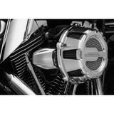 Kuryakyn Chrome Bantam Throttle Servo Motor Cover for Harley Davidson