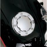 Kuryakyn Flush-Mount Left-Hand Gas Cap for Harley Davidson
