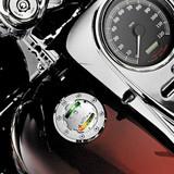 Kuryakyn Informer LED Fuel and Battery Gauge for Harley Davidson