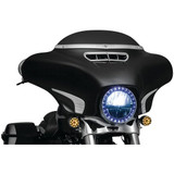 Kuryakyn Tri-Line Windshield Trim for Harley Davidson