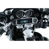 Kuryakyn Speedometer and Tachometer Gauge Brow for Harley Davidson