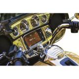 Kuryakyn Tri-LIne Gauge Trim for Harley Davidson