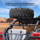 Octane Spare Tire Carrier for Polaris RZR PRO XP