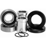 Pivot Works Dirt Bike Water Tight Wheel Collar and Bearing Kit for Kawasaki