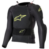 Alpinestars Youth Bionic Plus Protection Jacket (Black/Fluo Yellow)