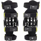Alpinestars Bionic-7 Knee Braces (Grey/Fluo Yellow)