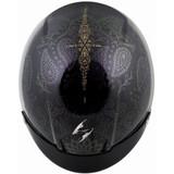 Scorpion EXO-C110 Azalea Helmet (Black/Gold)